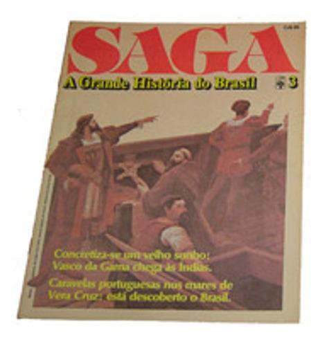 fasciculo revista saga a grande historia do brasil