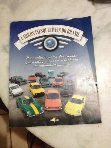 fascículos  carros inesquecíveis do brasil altaya