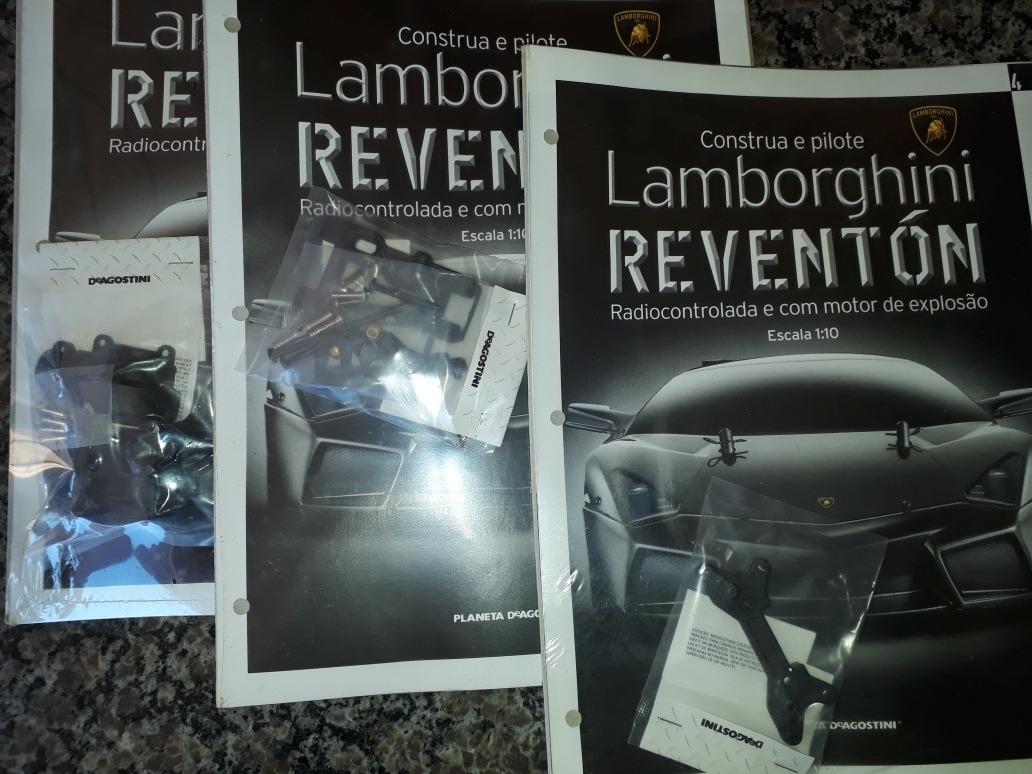 Fasciculos Lamborghini Reventon R 120 00 Em Mercado Livre