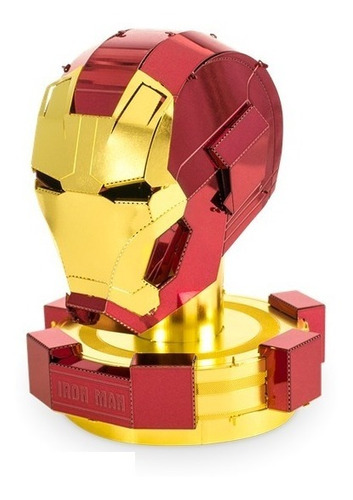 fascinations casco iron man avengers rompecabezas 3d