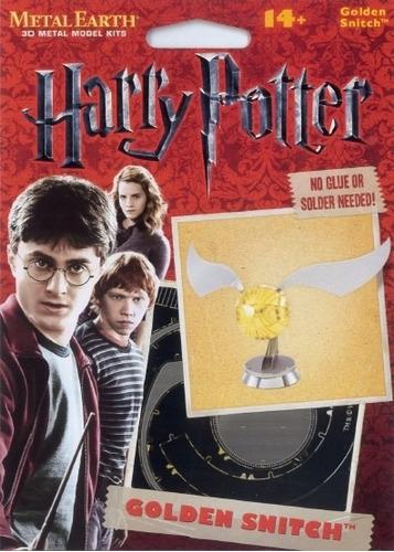 fascinations el snitch harry potter  rompecabezas 3d