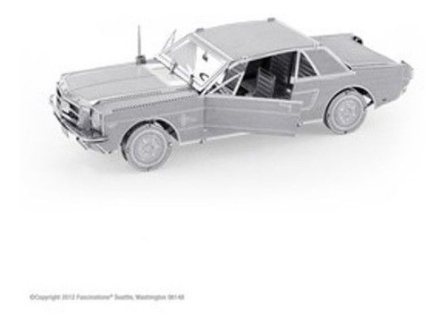 fascinations ford mustang 1965 rompecabezas 3d metal armable
