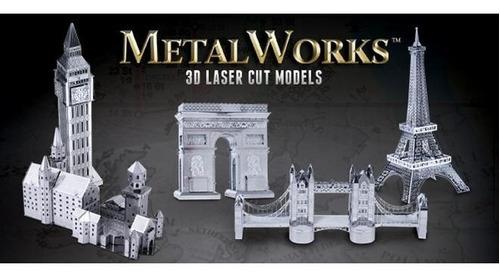fascinations puente de londres rompecabezas 3d metal puzzle