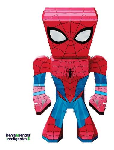 fascinations spider-man marvel legends rompecabezas 3d