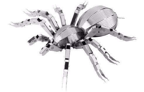 fascinations tarántula rompecabezas 3d metal earth