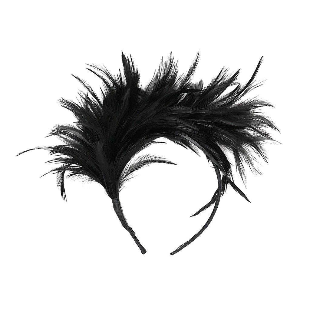 21b75cb8f49 fascinators de plumas para mujer sombrero de derby de boda. Cargando zoom.