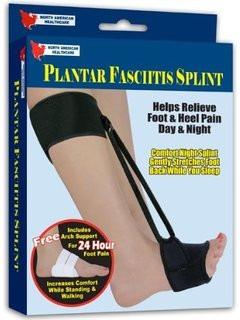fascitis plantar soporte nocturno y almohadilla para zapato