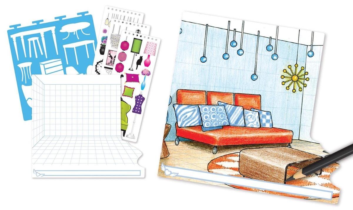 fashion angels interior design sketch portfolio 585 00 en rh articulo mercadolibre com mx