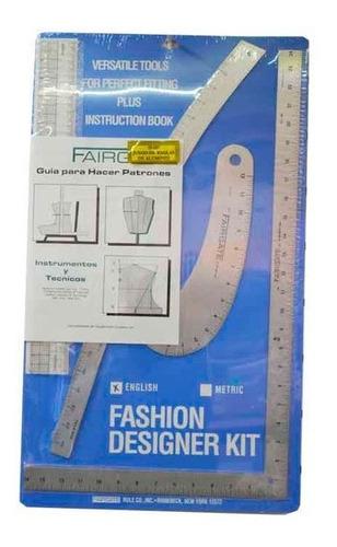 fashion designer kit - reglas para patronaje fairgate