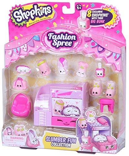 fashion pack shopkins de pijamas fun collection
