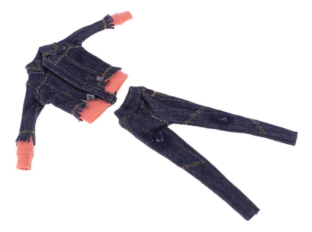 Fashion Traje De Vestir De 2 Piezas Juegos Dressup Diy Para