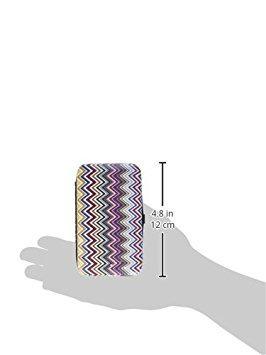 fashioncraft chevron diseño de manicura set de viaje