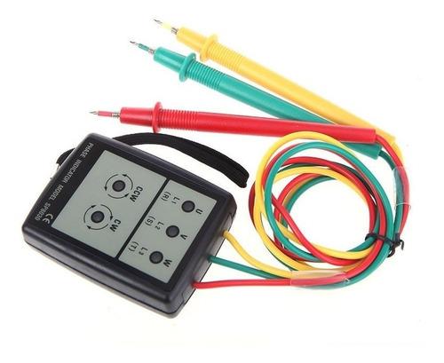 fasímetro indicador de rotação trifásico com sonoro e estojo