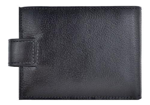 fasolo carteira luxo masculina com garantia fecho botão h016