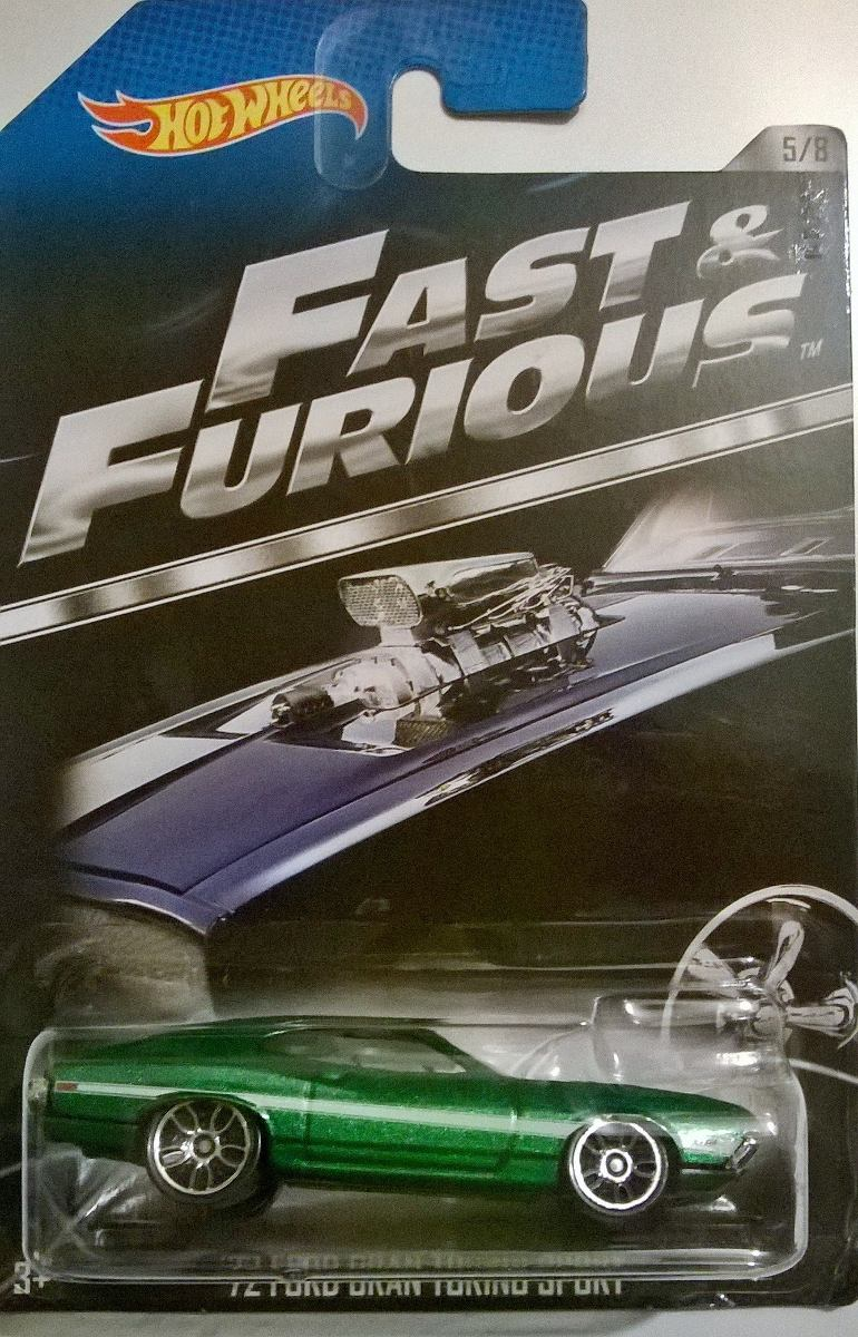 Fast And Furious 72 Ford Gran Torino Sport 5 8 Hot