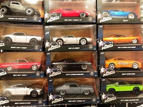 fast and furious  rapido y furioso autos coleccion 1/32