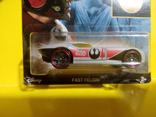 fast felion star wars disney comic hotwheels mattel diecast