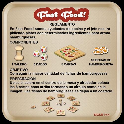 fast food! + expansión sale con fritas! - novedad!