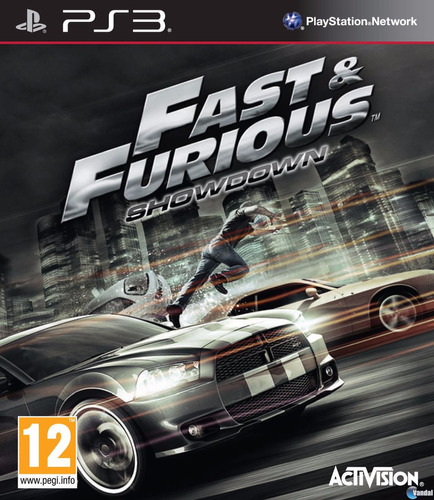 fast & furious showdown ps3 sellado original