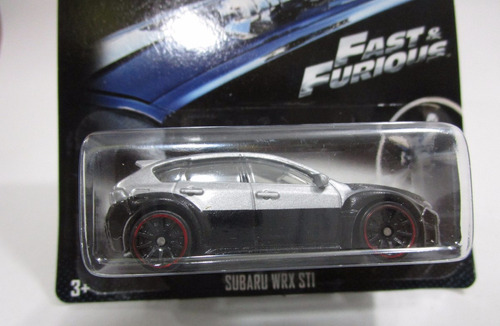 fast & furious subaru escala 1/64 coleccion hot wheels
