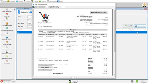 fastpos punto de venta - inventario, facturación electronica