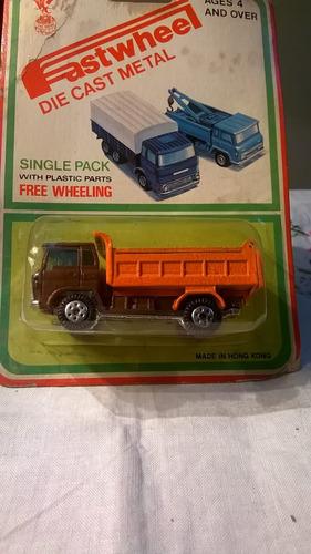 fastwheel  camion volcador 7cm año 70 devoto hobbies
