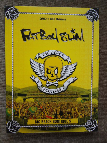 fat boy slim - big beach bootique 5 - dvd+cd