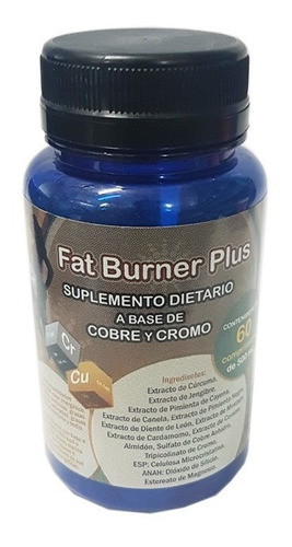 fat burner plus x 60 comprimidos - laboratorio tabor