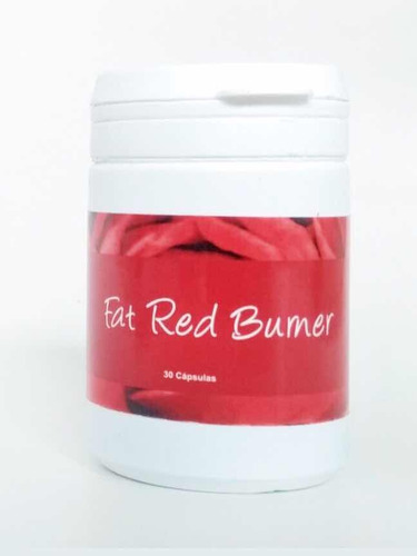 fat red burner original 30 cápsula + frete grátis kit com 3