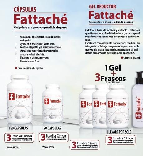 fatache 540 caps completo incluye gel y cinturilla hot be