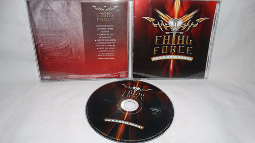 fatal force - unholy rites ( obsession loudness vescera)