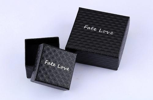 fate love his & hers black-gold treamline cross pendant jueg