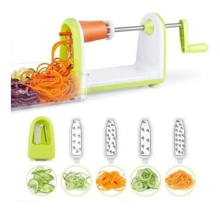 fatiador cortador ralador spiralizer macarrao de legume luxo