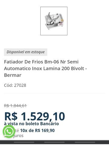 fatiador de frios semi automático 200 bivolt