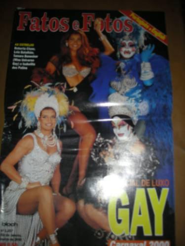 fatos e fotos - especial de luxo  gay carnaval 2000