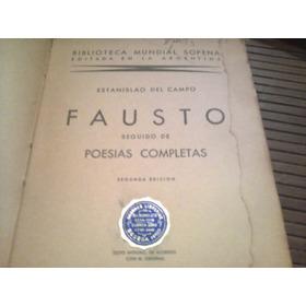 Fausto- Estanislao Del Campo- Sopena-1941