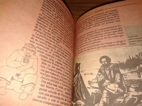 fausto estanislao del campo - biblioteca de oro anteojito