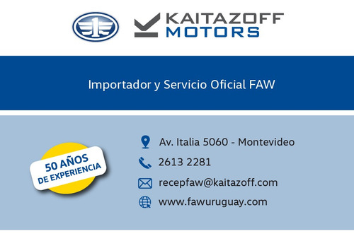 faw a50 confort 2020 0km