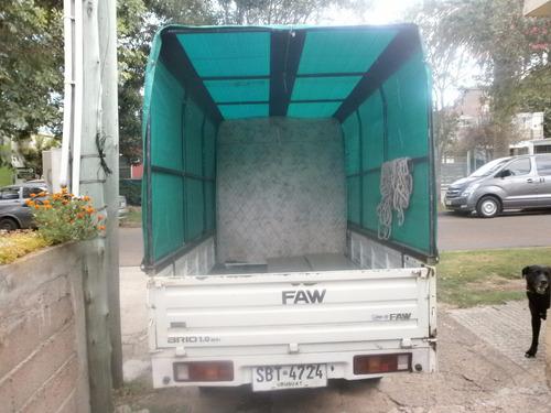 faw brio pick up toldada