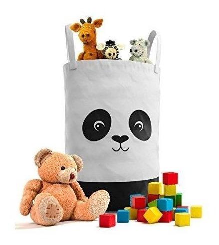 fawn hill co panda cesto de ropa para cuarto de niños o gua