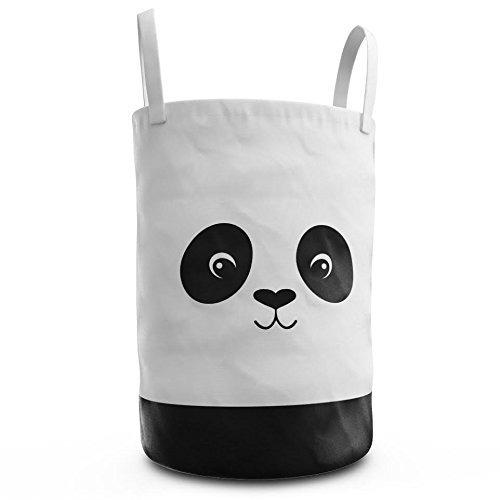fawn hill co panda cesto de ropa para cuarto de ninos o guar