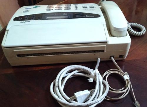 fax - facsimil sanyo modelo sfx-1000