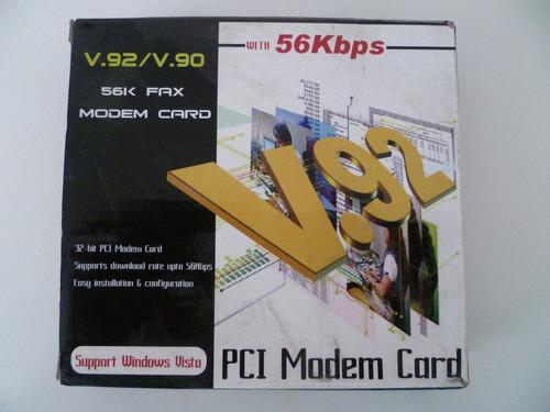 fax modem v.92 56kbps ¨¨novo¨¨