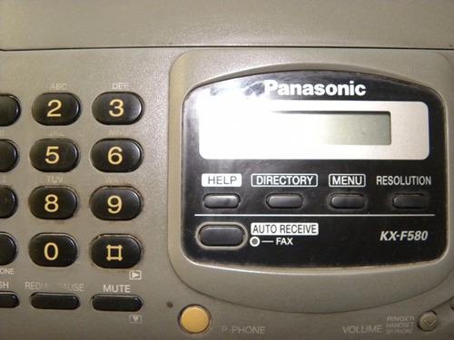 fax panasonic kx- f580, ótimo estado