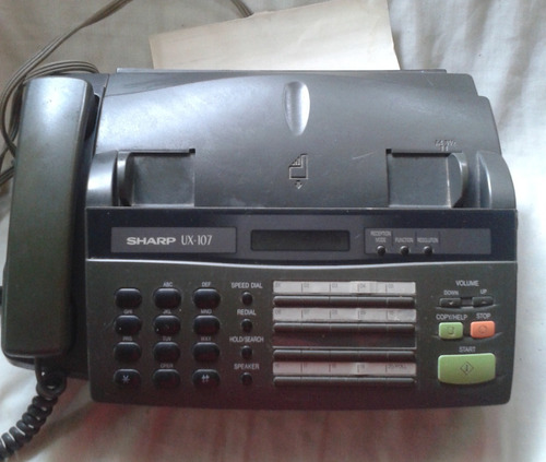 fax panasonic lo regalo