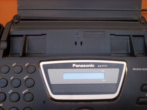 fax panasonic modelo kx ft71