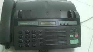fax sharp telefono