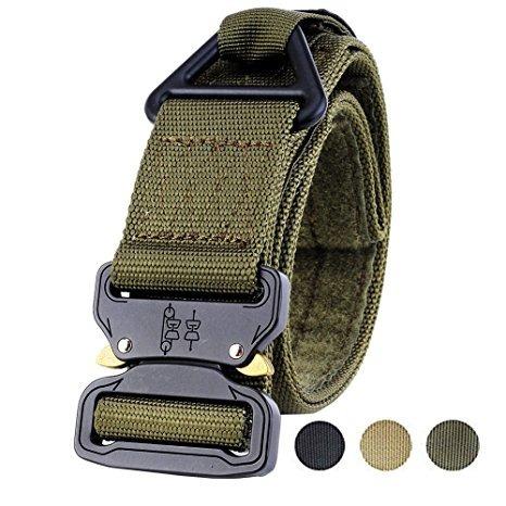 4978b3c6a Faylife Táctico Cinturón Pesado Correa De Cintura Ajustable -   1