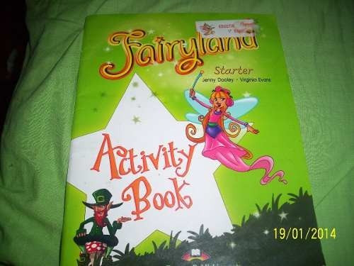 fayriland stater activity book