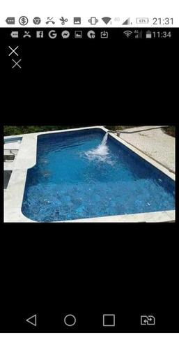 fazemos e reformamos a sua piscina e damos garantia de 5 a